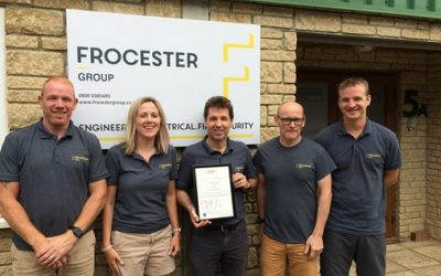 Frocester group's quality now assured