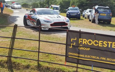 Frocester Group sponsor Wiscombe Hillclimb